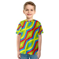 Colorful Chains                    Kid s Sport Mesh Tee