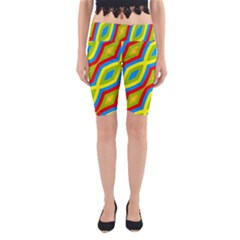 Colorful chains                    Yoga Cropped Leggings