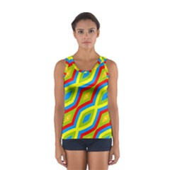 Colorful Chains                    Women s Sport Tank Top