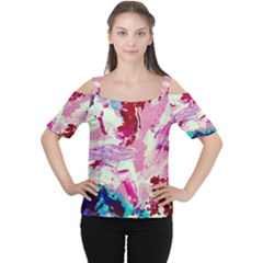 Image Women s Cutout Shoulder Tee