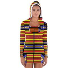 FLAIR Women s Long Sleeve Hooded T-shirt