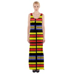 Flair one Maxi Thigh Split Dress