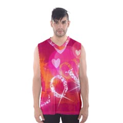 Love Men s Basketball Tank Top