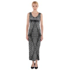 The Weave  Fitted Maxi Dress