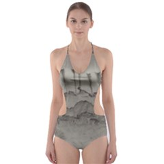 Peace In The Valley  Cut-Out One Piece Swimsuit