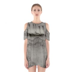 Peace In The Valley  Cutout Shoulder Dress