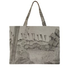Peace In The Valley  Zipper Large Tote Bag