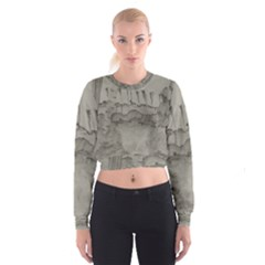 Peace In The Valley  Women s Cropped Sweatshirt