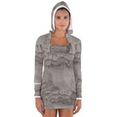 Peace In The Valley  Women s Long Sleeve Hooded T Shirt