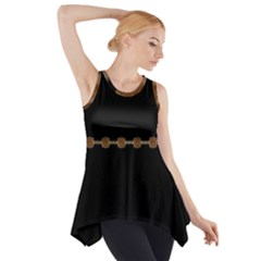 color020a Side Drop Tank Tunic