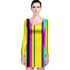 Feeling Purky! Long Sleeve Velvet Bodycon Dress