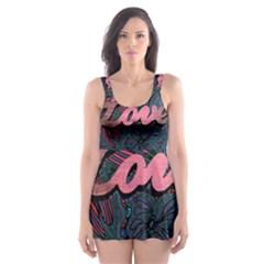 Love! Skater Dress Swimsuit