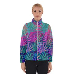 Colored Palm Leaves Background Winterwear