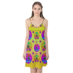 Floral Love And Why Not In Neon Camis Nightgown