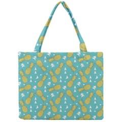 Summer Pineapples Fruit Pattern Mini Tote Bag
