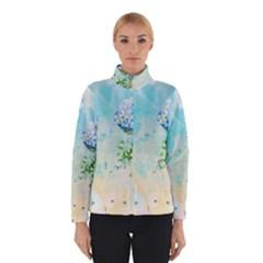 Watercolor Fresh Flowery Background Winterwear