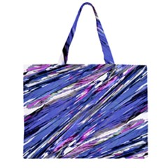 Abstract Collage Print Large Tote Bag