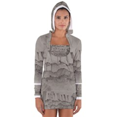 Peace In The Valley Series #44 Women s Long Sleeve Hooded T-shirt