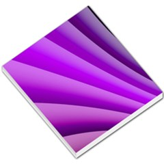 Gentle Folds Of Purple Small Memo Pads