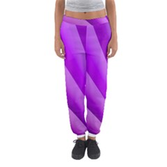 Gentle Folds Of Purple Women s Jogger Sweatpants