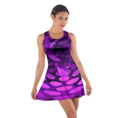 Abstract In Purple Racerback Dresses