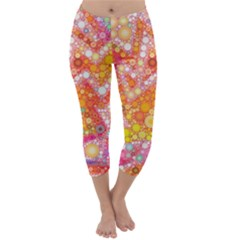 Sunshine Bubbles Capri Winter Leggings