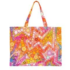 Sunshine Bubbles Large Tote Bag