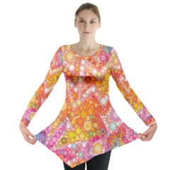 Sunshine Bubbles Long Sleeve Tunic