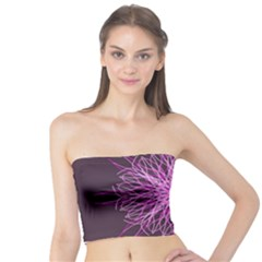 Pink Kaleidoscope Flower Mandala Art Tube Top