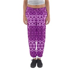 Lion In Purple Women s Jogger Sweatpants