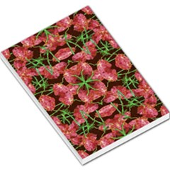 Floral Collage Pattern Large Memo Pads