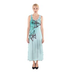 DRESS #300 Sleeveless Maxi Dress