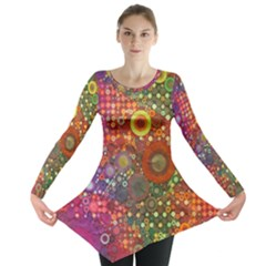 Circle Fantasies Long Sleeve Tunic