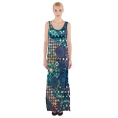 Babybluebubbles Maxi Thigh Split Dress