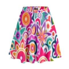 Eden s Garden High Waist Skirt