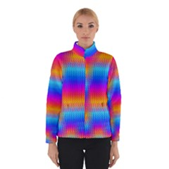 Psychedelic Rainbow heat waves Winterwear