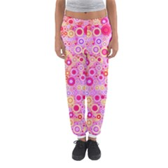 Sweet Pink Bubbles Women s Jogger Sweatpants