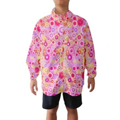 Sweet Pink Bubbles Wind Breaker (kids)