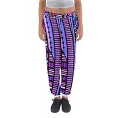 Stained Glass Tribal Pattern Women s Jogger Sweatpants