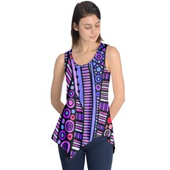 Stained glass tribal pattern Sleeveless Tunic