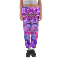 Pretty Floral Painting Women s Jogger Sweatpants