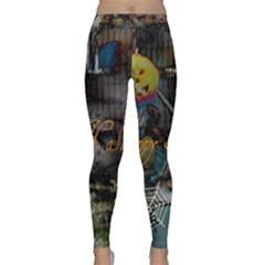 Happy Hallows Eve Yoga Leggings