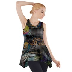 Happy Hallows Eve Side Drop Tank Tunic