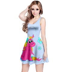 Life Is Not A Pony Ranch Reversible Sleeveless Dress