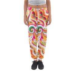 Sunshine Swirls Women s Jogger Sweatpants