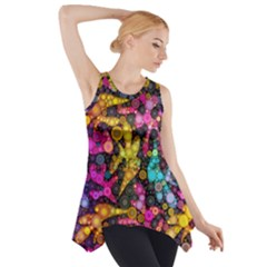 Midnight Dancers Side Drop Tank Tunic