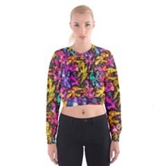 Midnight Dancers Women s Cropped Sweatshirt