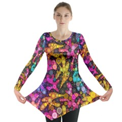 Midnight Dancers Long Sleeve Tunic