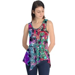 Bubble Chaos Sleeveless Tunic