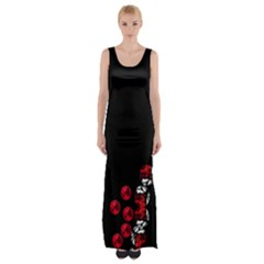 loves passion Maxi Thigh Split Dress